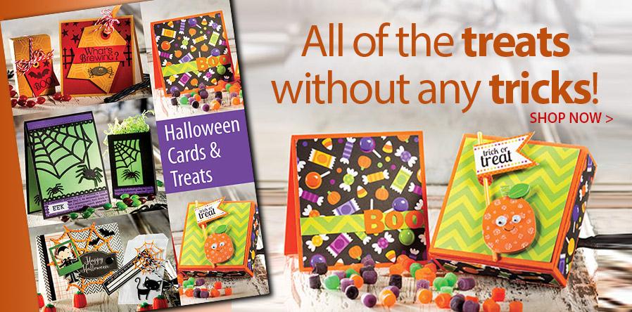 AG01233 Halloween Cards & Treats