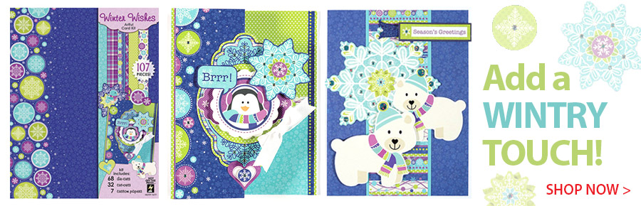 709210 Winter Wishes Artful Card Kit