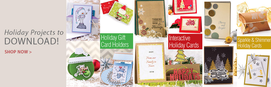 AG01238 Interactive Holiday Greeting Cards