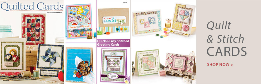 AG01265 Quick & Easy Stitched Greeting Cards