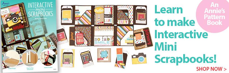 A701053 Interactive Mini Scrapbooks