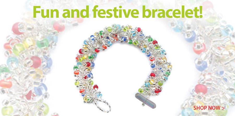 805520 Fiesta Chain Crochet Bracelet Kit