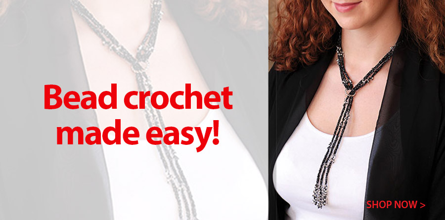 837856 Arya Crochet Lariat Kit - Sapphire