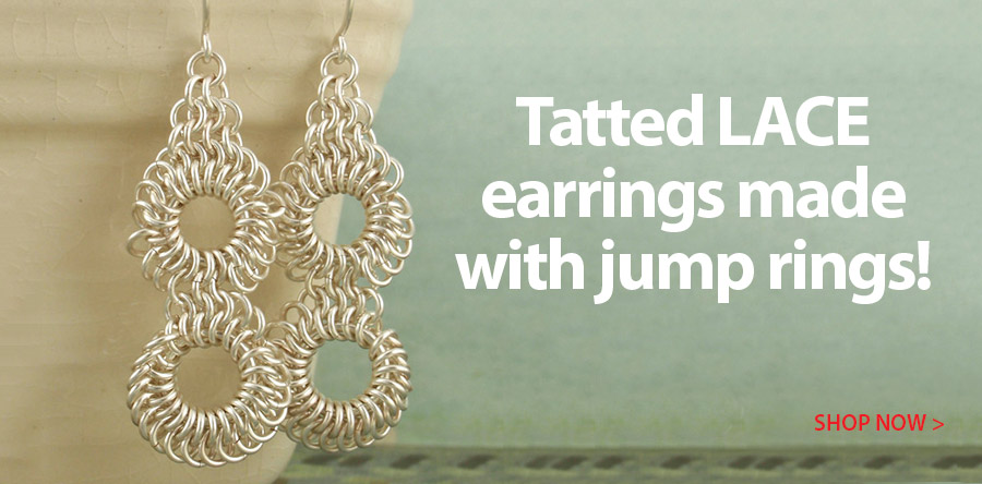 709009 Tatted Lace Earring Kit