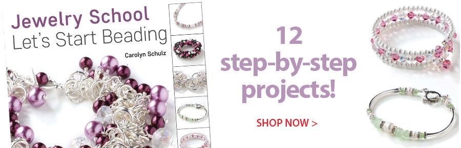 708663 The Jewelry School: Let's Start Beading