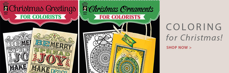 709208 Christmas Greetings for Colorists