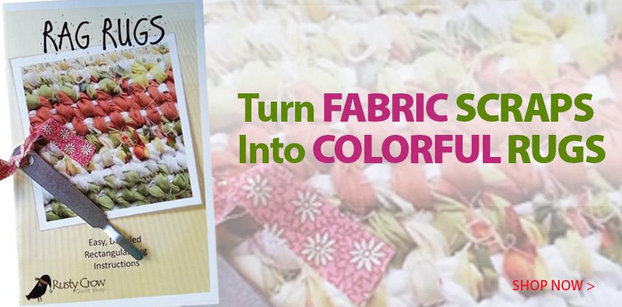 353537 Rag Rugs Pattern Booklet & Tool
