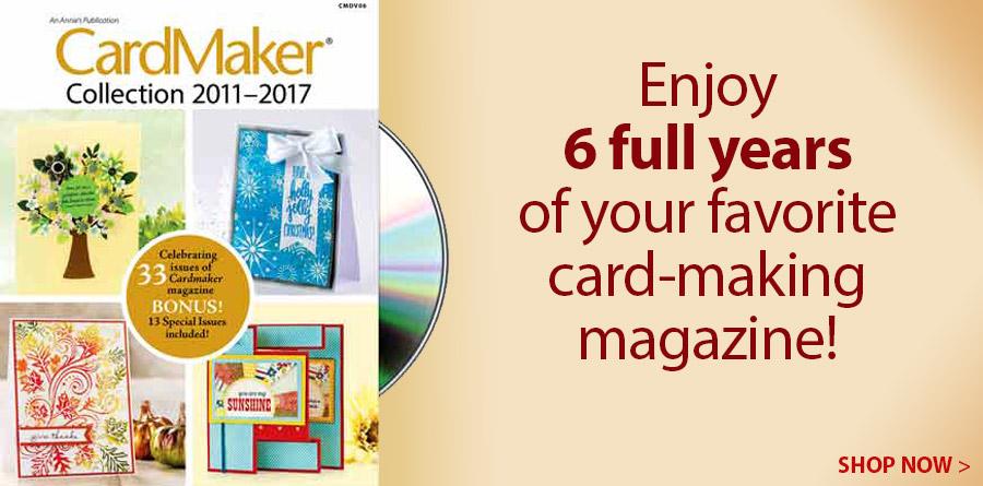 CMDv02 CardMaker 2011-2017 Collection DVD