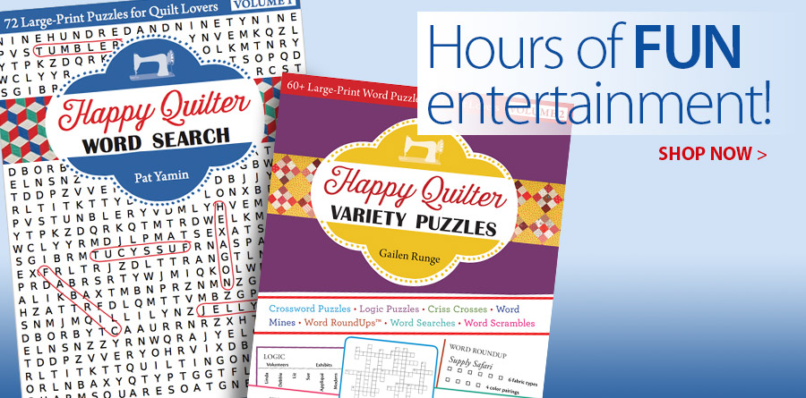 411389 Happy Quilter Word Search