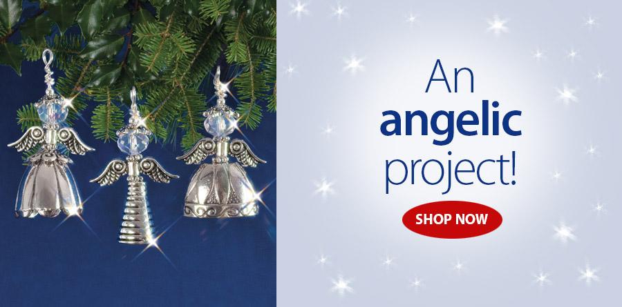 838413 Vintage Angels Beaded Kit
