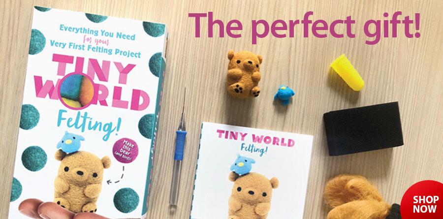 838428 Tiny World - Felting!
