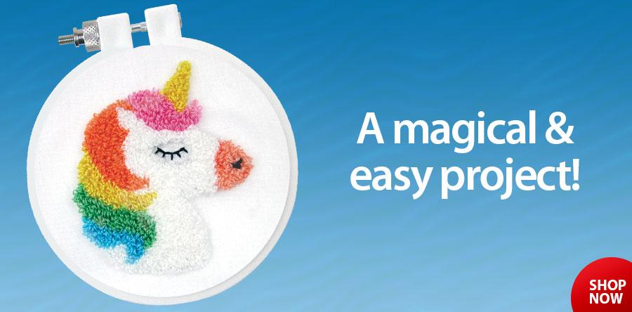838466 Unicorn Punch Needle Kit