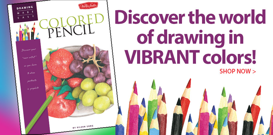 709469 Drawing Made Easy: Colored Pencil