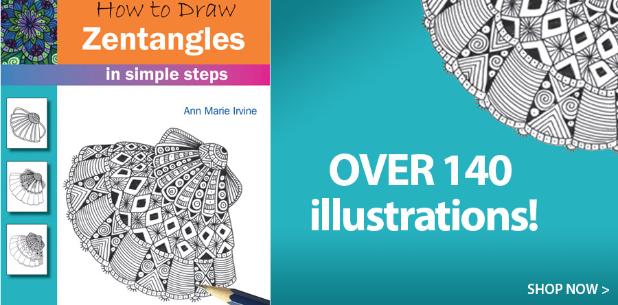 709438 How to Draw Zentangles in Simple Steps