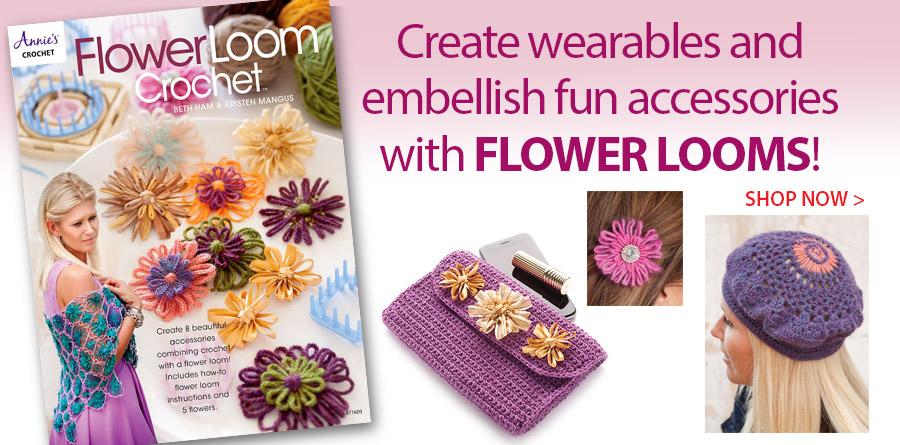 871609 Flower Loom Crochet