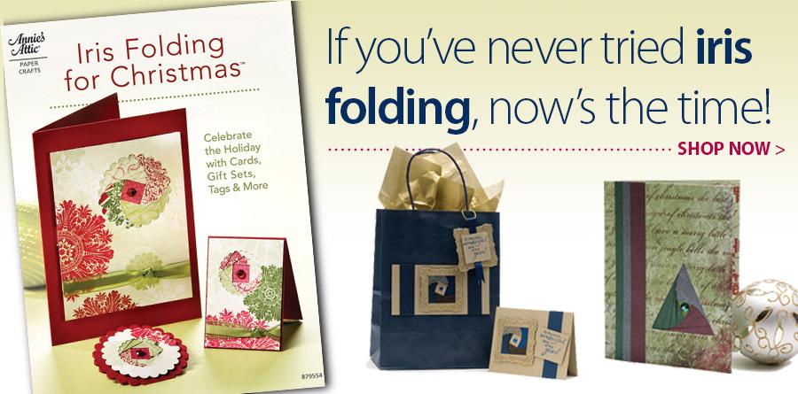 A879554 Iris Folding for Christmas