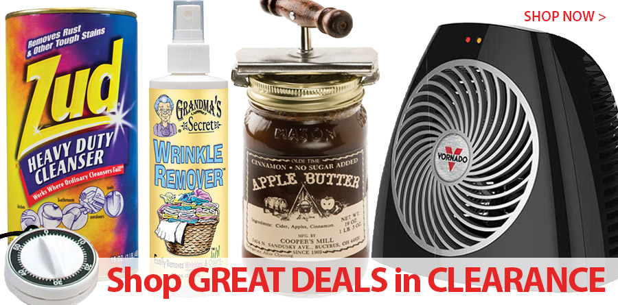 Shop GREAT DEALS in CLEARANCE