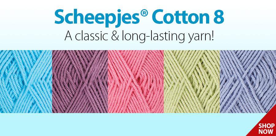 Scheepjes® Cotton 8