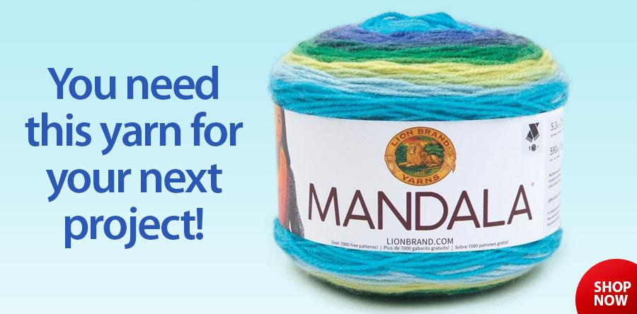 810689 Lion Brand® Mandala® Yarn