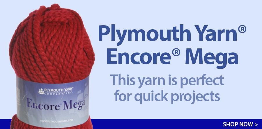 Plymouth Yarn® Encore® Mega