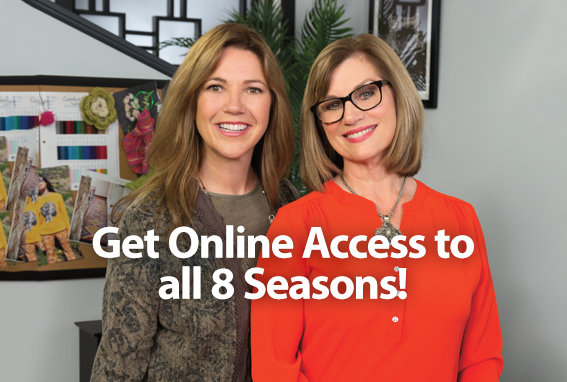 Get Online Access to all 8 Seasons! START FREE TRIAL!