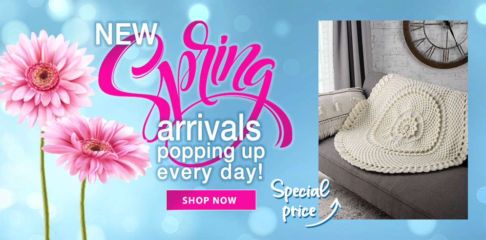 New Spring Arrivals Popping Up Every Day!
