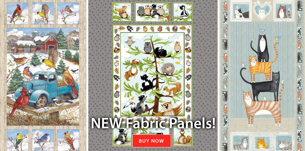 New Fabric Panels!