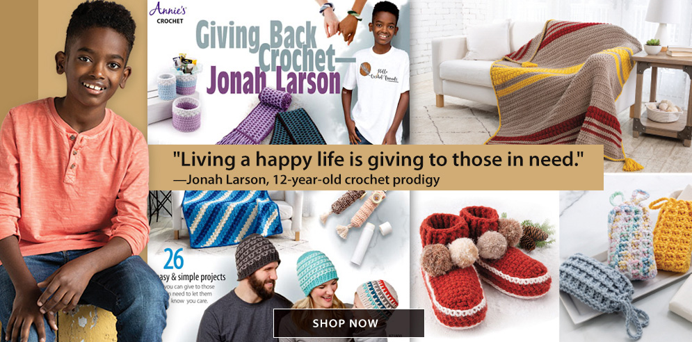 Giving Back Crochet--Jonah Larson - SHOP NOW