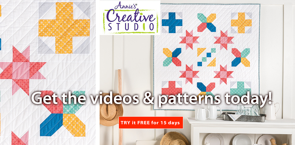 Get the videos and patterns today! - SHOP NOW