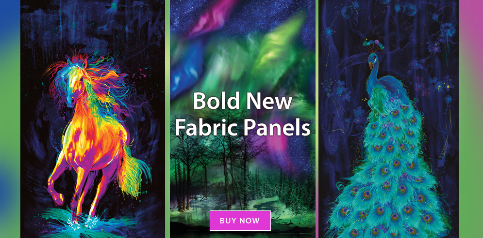 Bold New Fabric Panels!