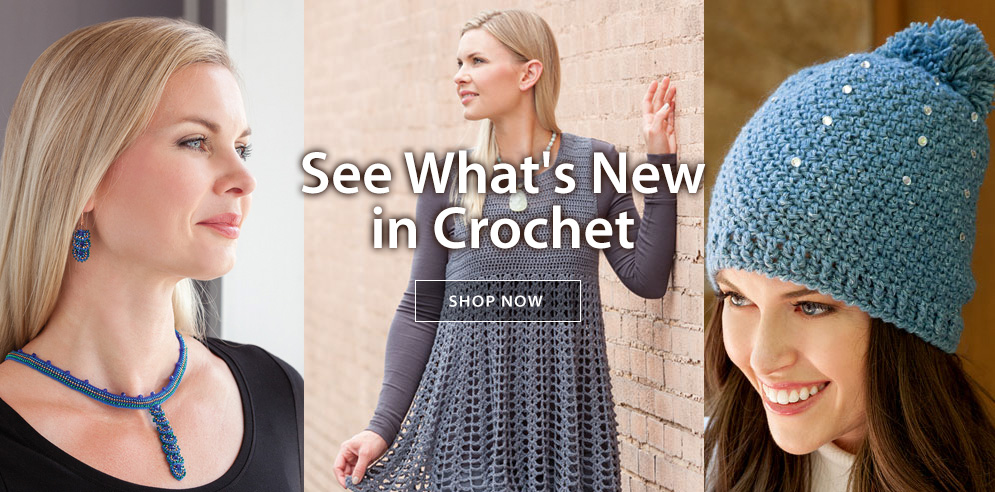 See What's New in Crochet