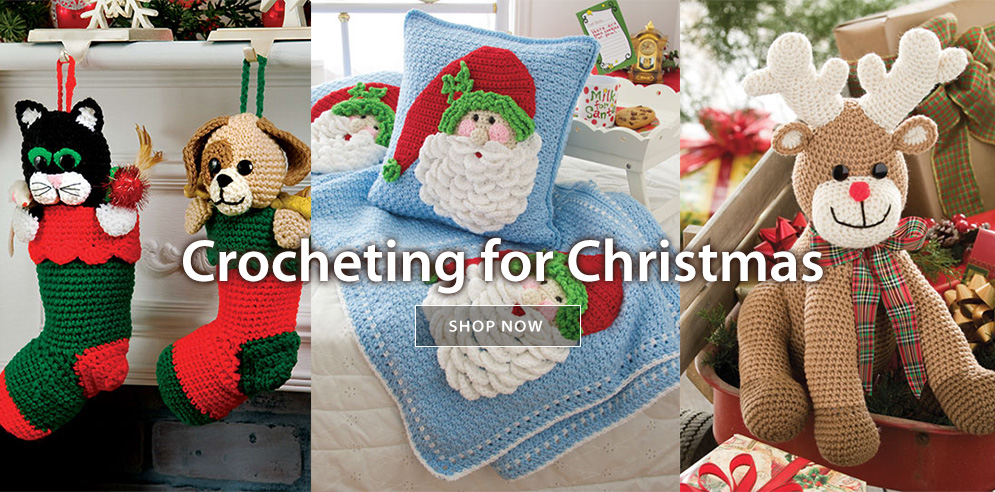 Crocheting for Christmas