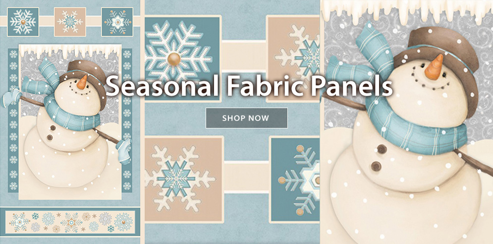 Seasonal Fabric Panels