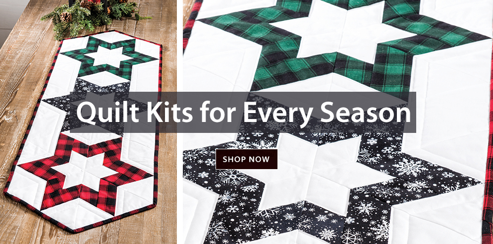 Quilt Kits For Every Season