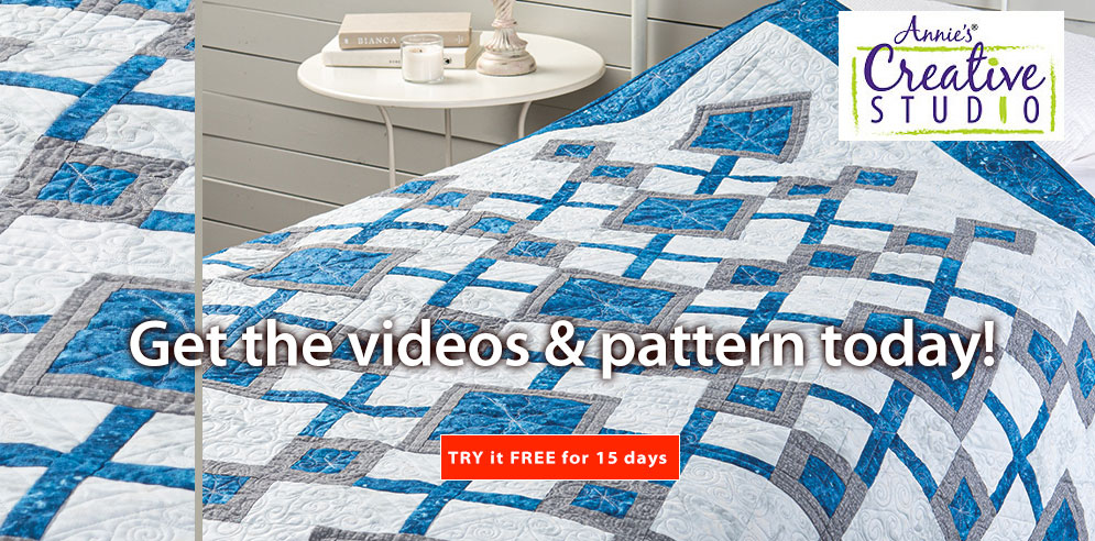 Get the videos & pattern today! - SHOP NOW