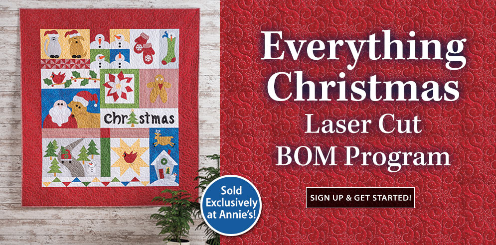 Everything Christmas Laser Cut Block of the Month Program