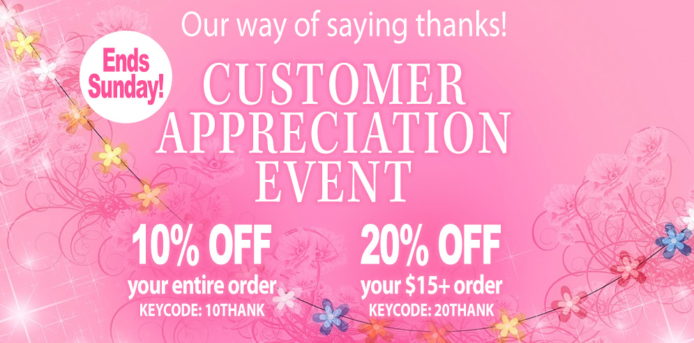 Annie's Customer Appreciation Event -- SHOP NOW