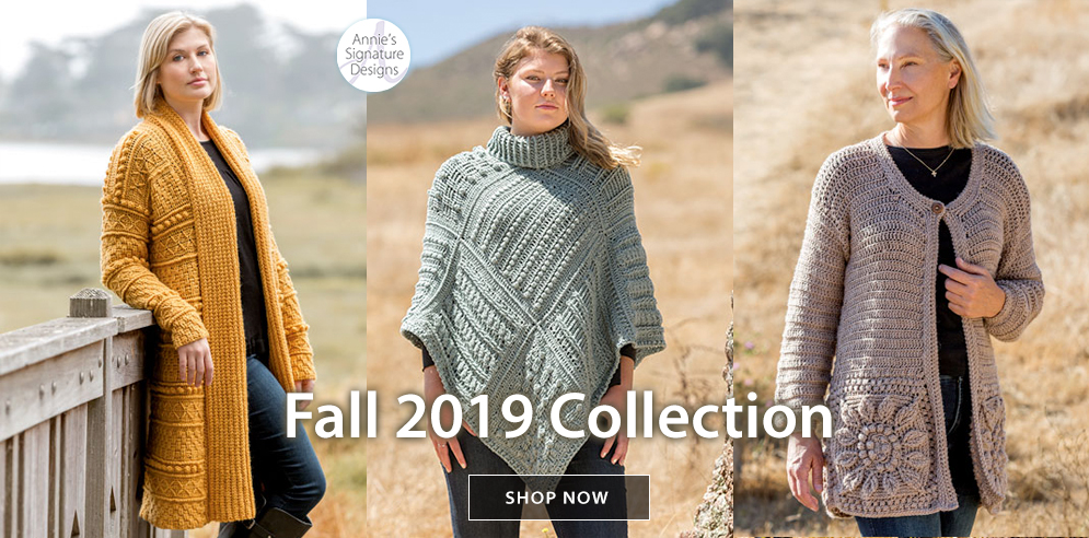 ANNIE'S SIGNATURE DESIGNS: Fall 2019 Collection