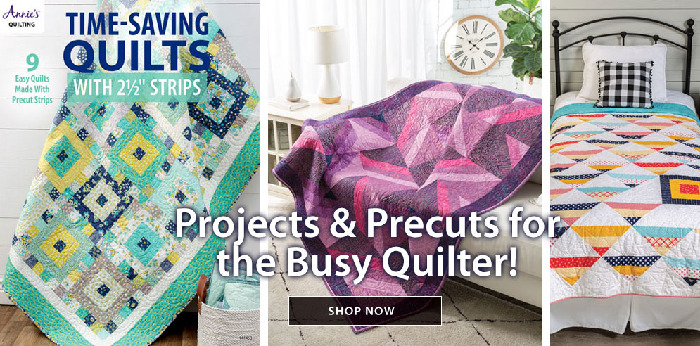 Shop Projects and Precuts for the Busy Quilter