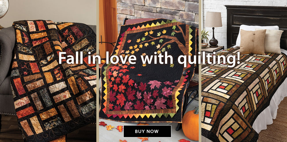 Fall in love with quilting!