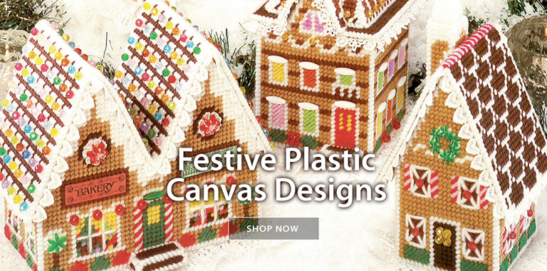 Festive Plastic Canvas Designs