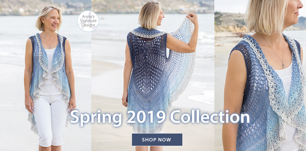 Annie's Signature Designs Spring 2019 Collection