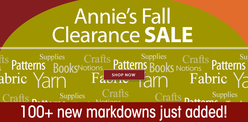 Annie's Fall Clearance