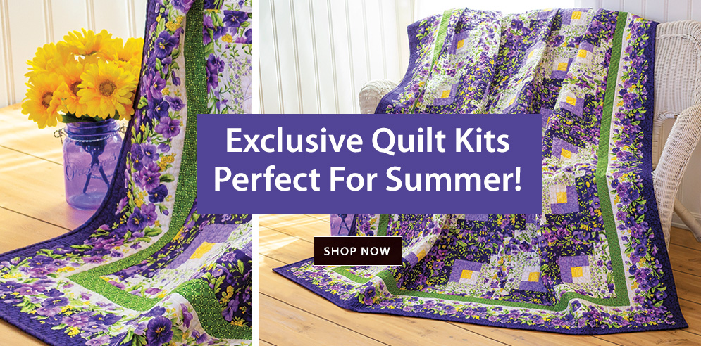 Exclusive Quilt Kits Perfect For Summer