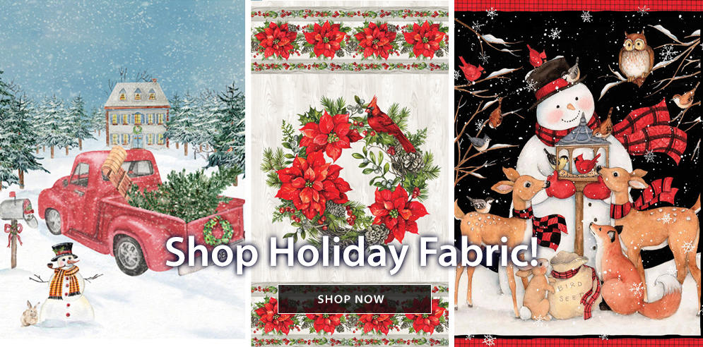 Shop holiday fabric - SHOP NOW