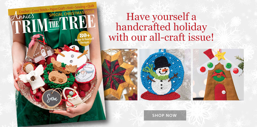 Annie's Trim the Tree al-craft issue!