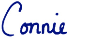 Connie Ellison's signature