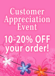 Customer appreciation (THANK10)