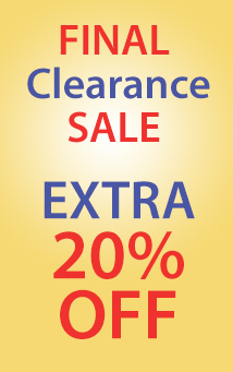 20% off clearance (EXTRA20)