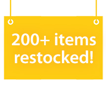 200+ items restocked (2005stock)